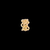 Gold charm 1