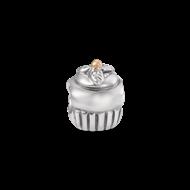 Silver & cold cupcake