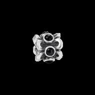 Silver flower onyx