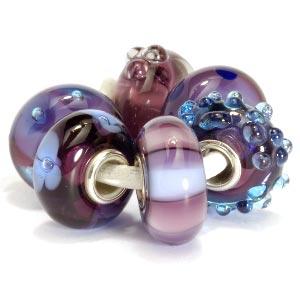 Trollbead set purple