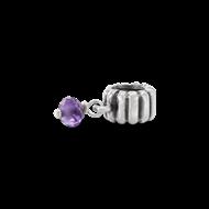 Purple dangle pandora