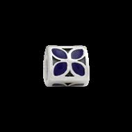 Purple enamal flower
