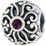 Biagi swirl purple