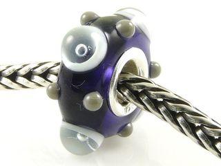 Kralenimpressie purple bead