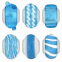 Lovelinks bright blue beads