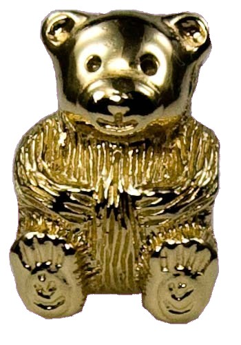 Pandora Gold bear 2