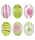 Lovelinks Parisol Glass Beads