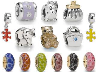 Pandora beads all new spring 2009