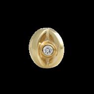 Pandora gold eye with cz
