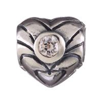 Chamilia april heart quartz