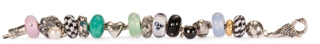 Trollbeads complete spring collection on bracelet