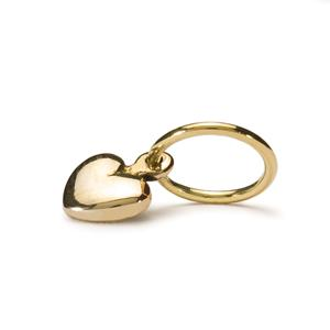 Trollbeads Gold heart dangle