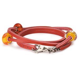Trollbeads Red Leather Bracelet