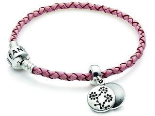 Pandora Pink Bracelet with Charm