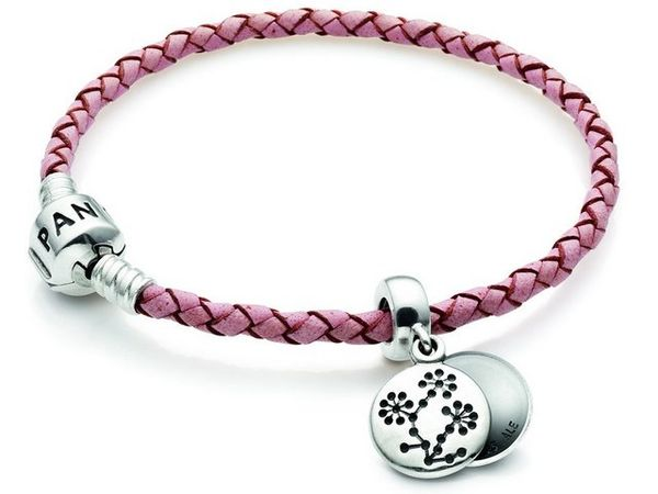 Charm campaign pandoras new charity beads for 2010 for Jewelry that supports a charity